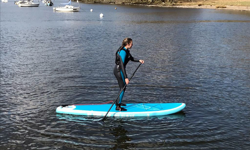 Paddleboarding Fell Foot Lake Windermere