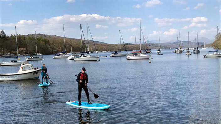Picture of Fell Foot, Lake Windermere